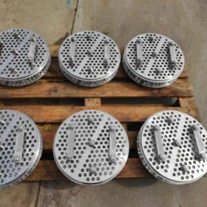Fabricación de dorr clones en AISI-316L.