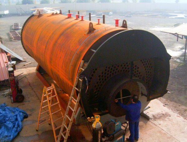 Cuerpo caldera de vapor 15.000 Kg/H