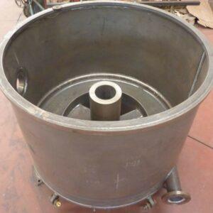 Cuerpo de centrifuga en acero al carbono