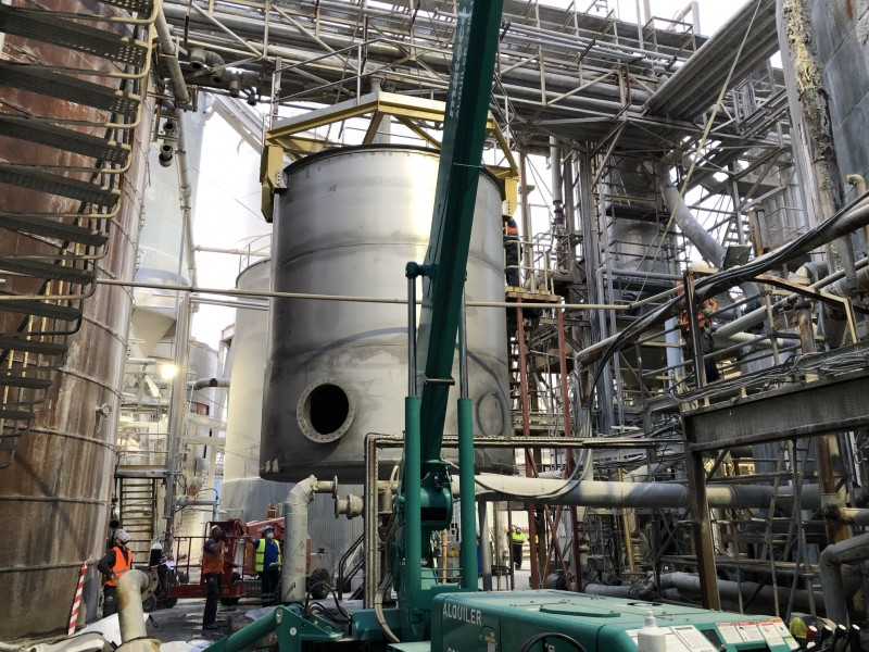 Manufacture and assembly of homogenization tank
