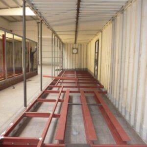 Adecuación de contenedores para planta de almacén