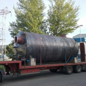 Manufacture and assembly of hydrochloric acid tank