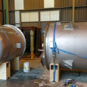 Fabricación de dos equipos en acero inoxidable AISI-316