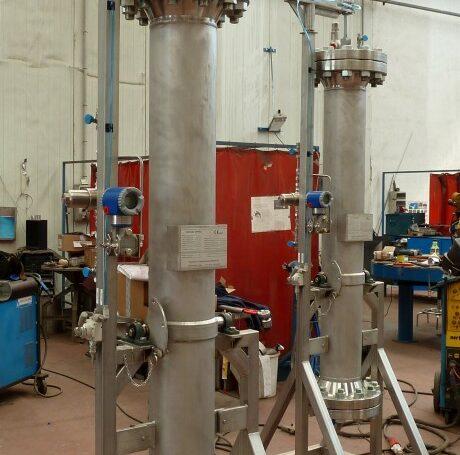 Filtros alta presión para absorción en inoxidable