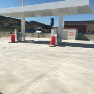 Ruta 29, petrol station in Sabiñanigo