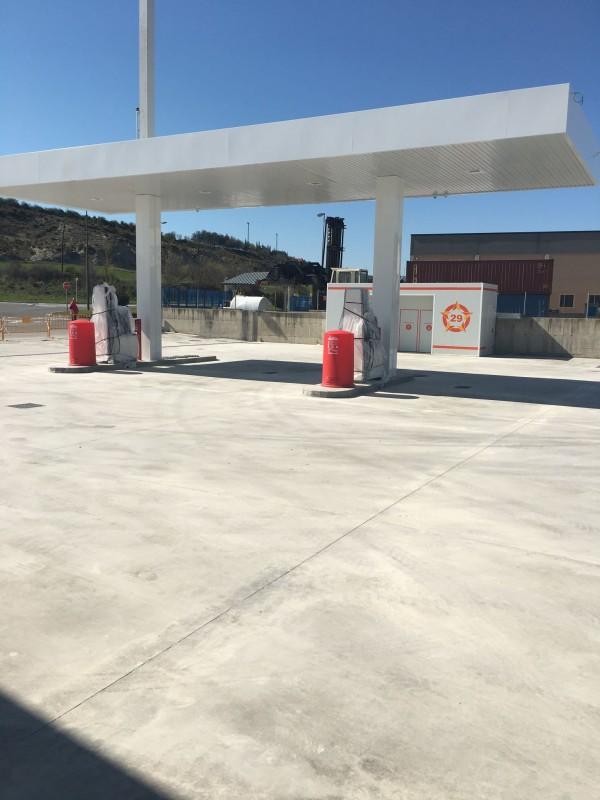 Gasolinera «Ruta 29» en Sabiñánigo