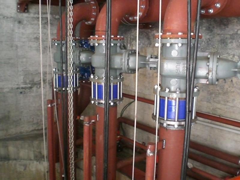 Instalación de válvulas