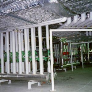 Instalación de válvulas y tuberías