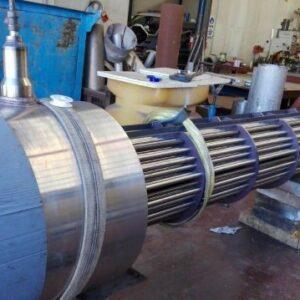 Intercambiador de acero