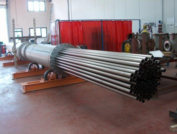 6 metre tube exchanger