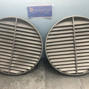 Fabricación de parrillas de titanio