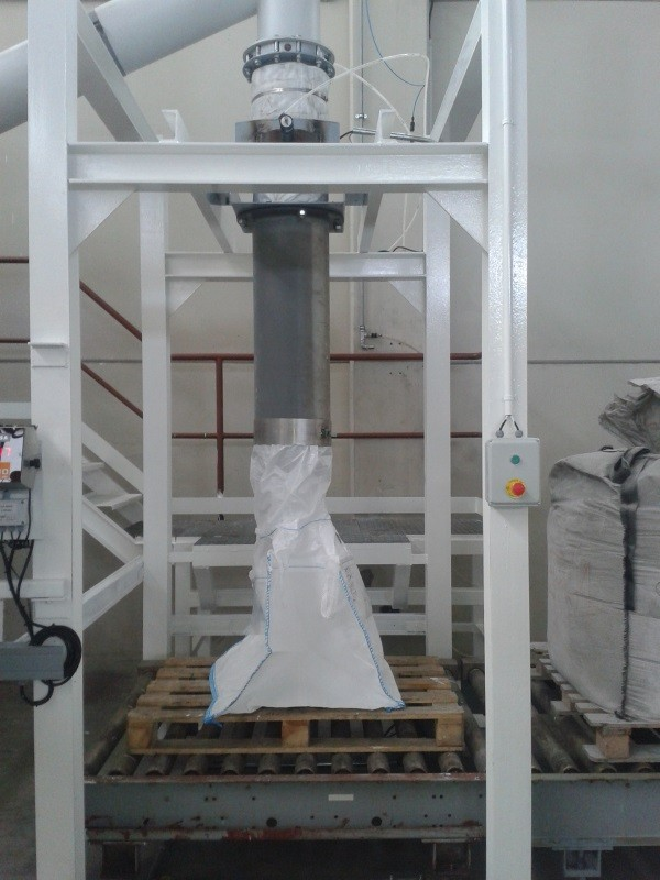 Automatic bromine bagging plant