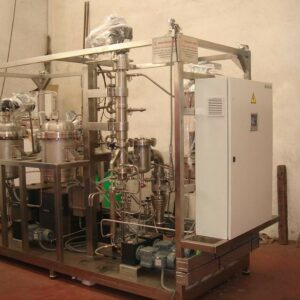 Planta piloto de destilación