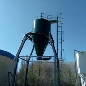 Fabrication et installation de silos à boues