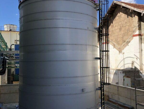 Fabrication d'un réservoir de stockage