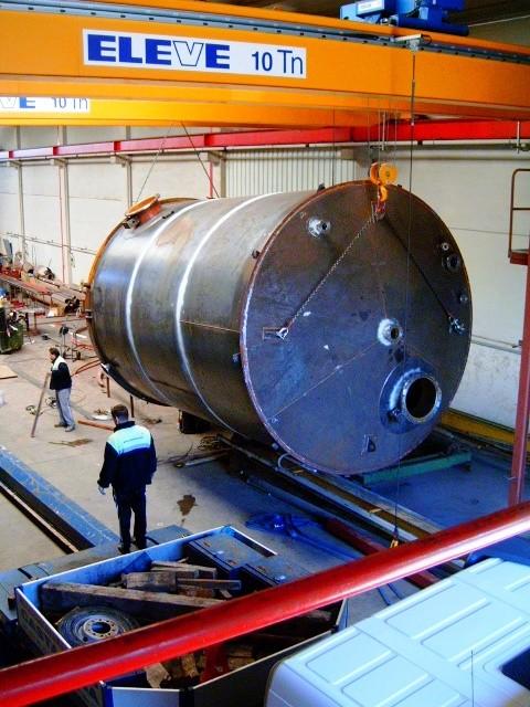 Tanque de almacenamiento en acero al carbono