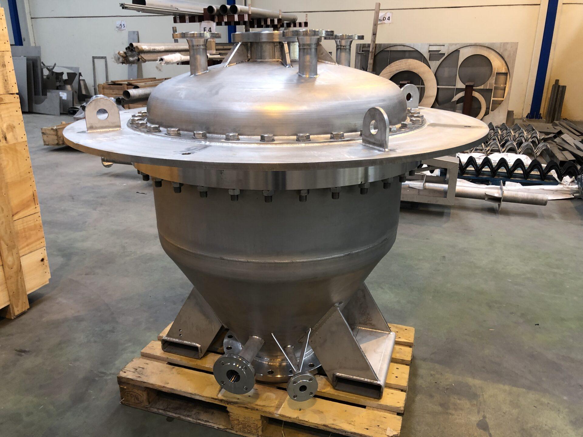 Equipo a presión AISI-316ti